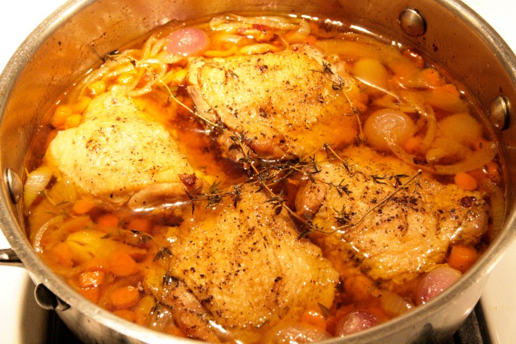 Coq au Night Train After Oven