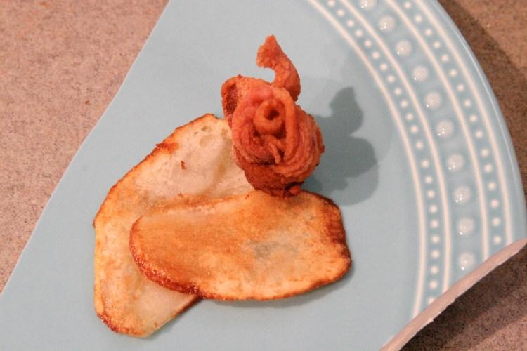 How to Plate Shard Potato Bacon Anus