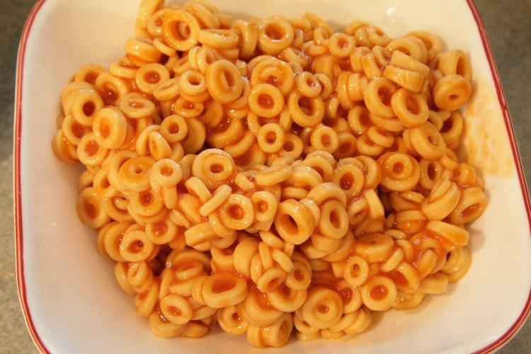 Spaghettios alla Carbonara Noodles Bowl