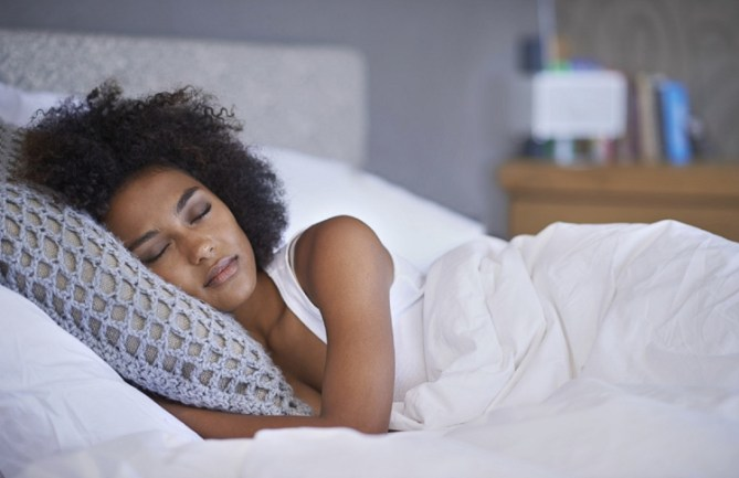 Image result for images of an African lady having a restless sleep
