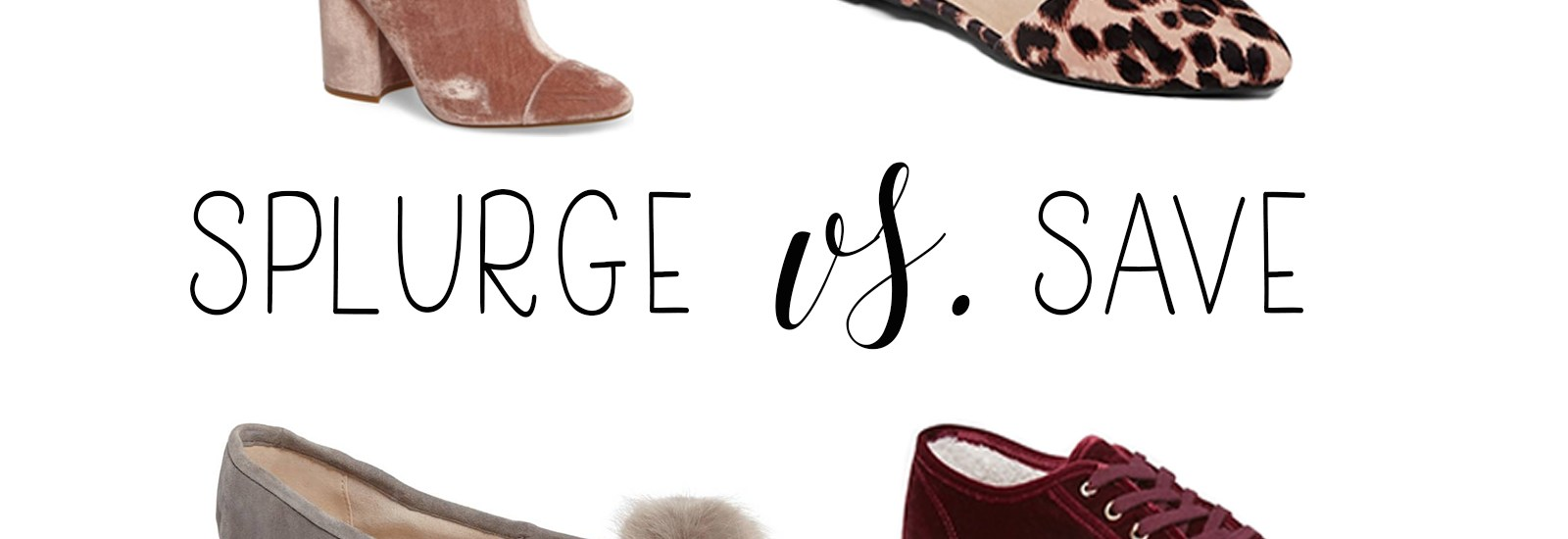 Splurge vs. Save on Shoes with Old Navy