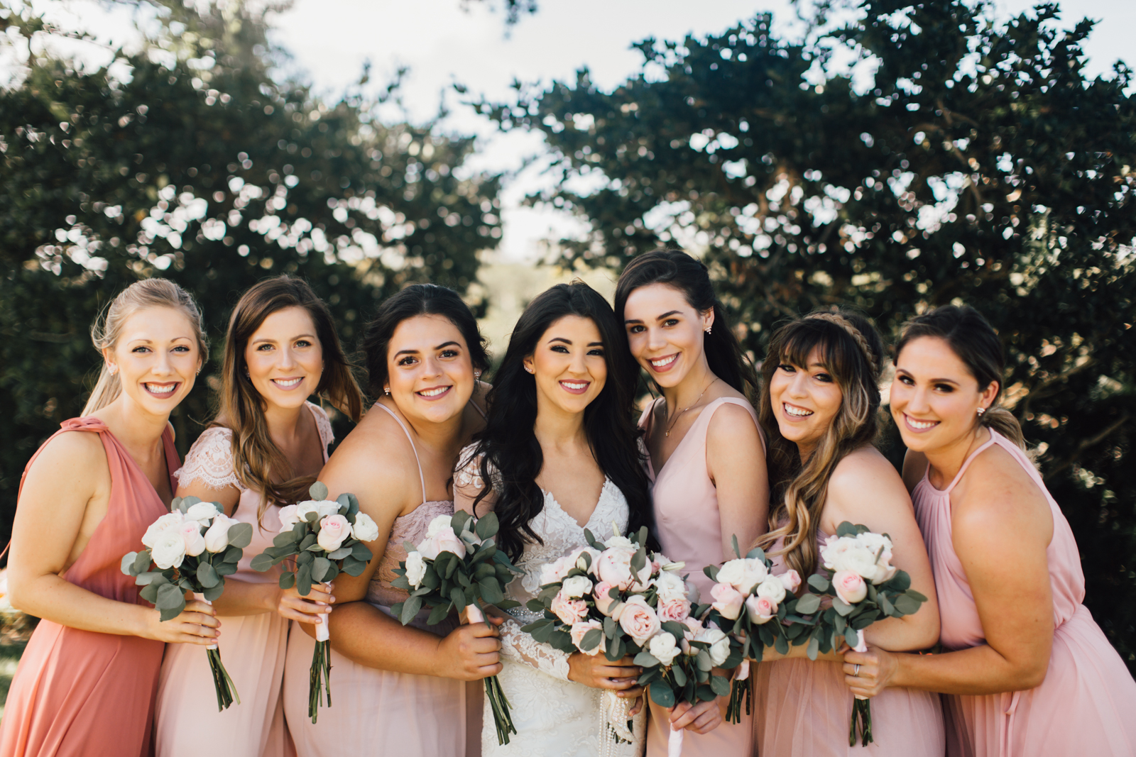 4c9f27b01614 Wedding Wednesday: Mastering Mismatched Bridesmaid Dresses • The Plain Jayne