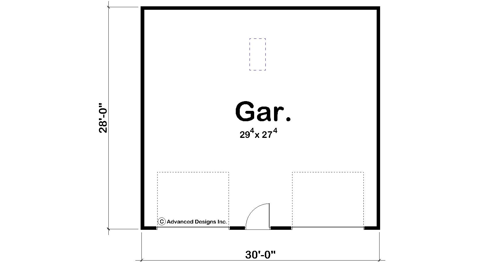 Garage Style Garage With 0 Car 0 Bedroom 840 Sq Ft