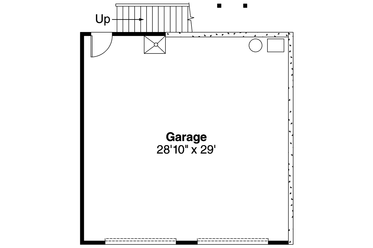 Craftsmanplan 108 0 Bedrm 2 Car Garage