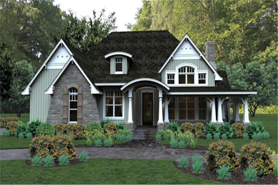 Bungalow House Plan  117 1106  3 Bedrm  2267 Sq Ft Home      117 1106      3 Bedroom  2267 Sq Ft Bungalow Home Plan   117 1106   Main
