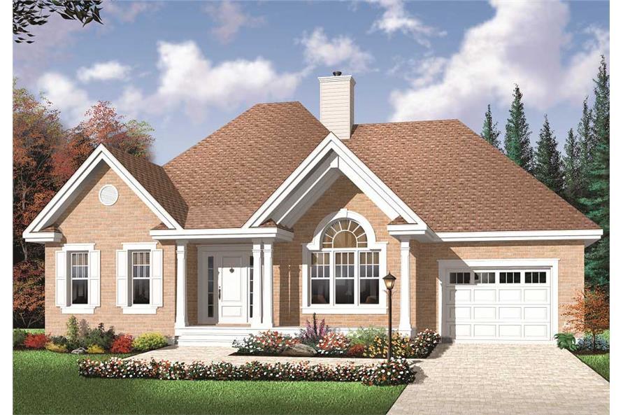Small House Plans Home Design 3242 V1