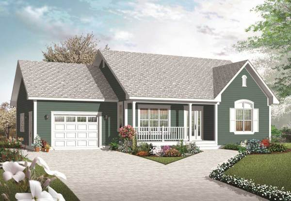 Small Country House Plans Home Design 3269
