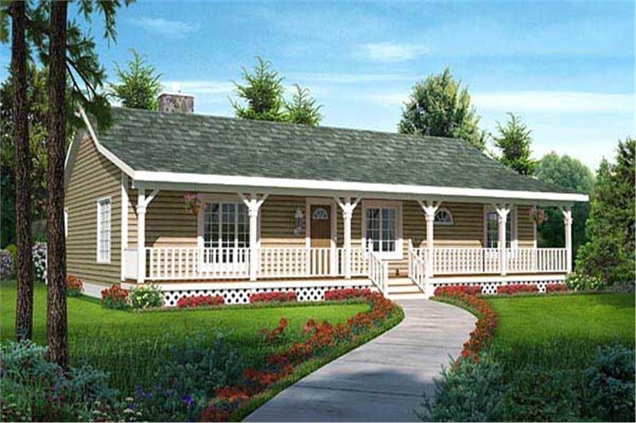 Ranch Design House Landscape Style
