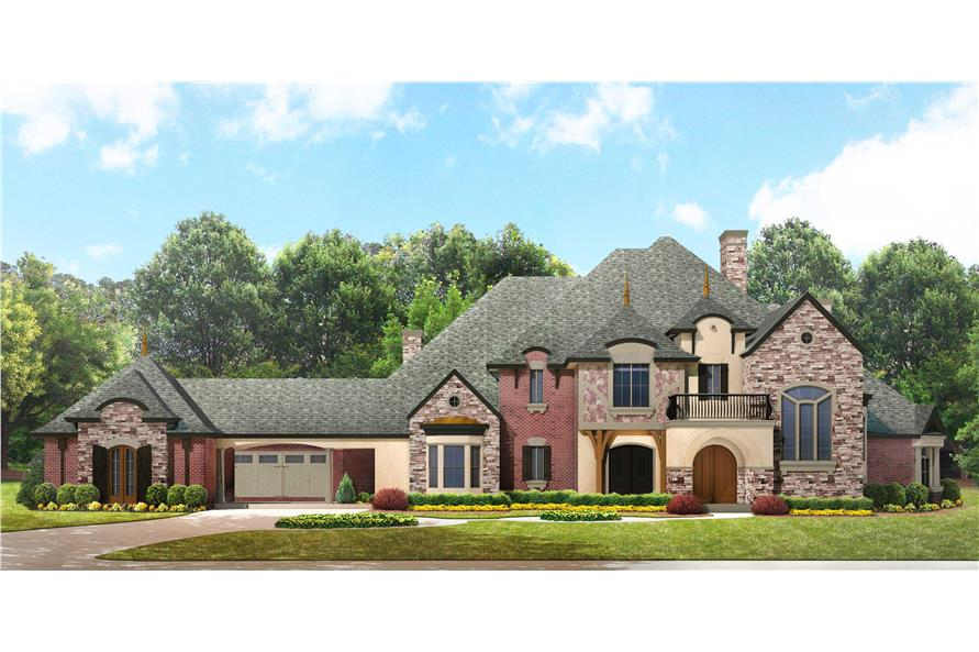 European Manor House Plan 134 1350 4 Bedrm 5303 Sq Ft