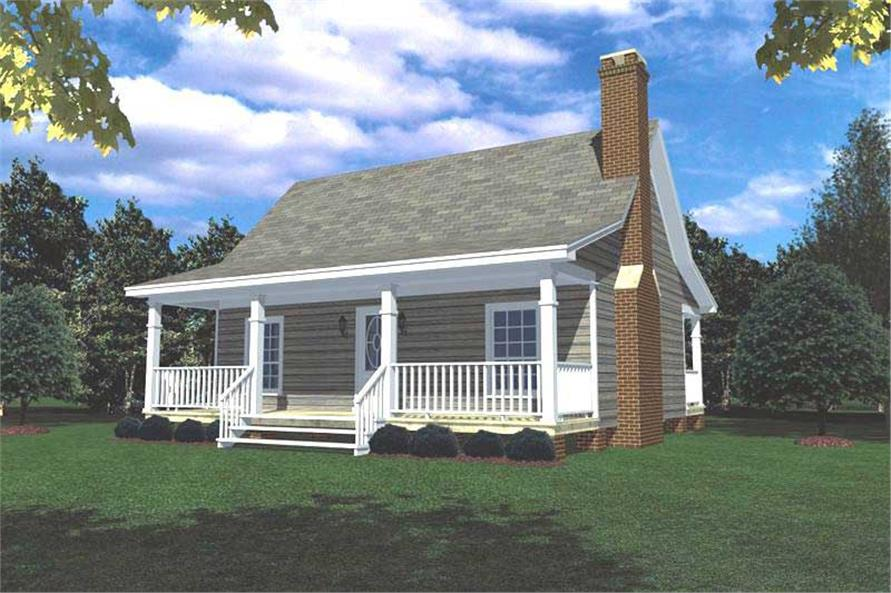 Two Story House Plans Wrap Around Porch