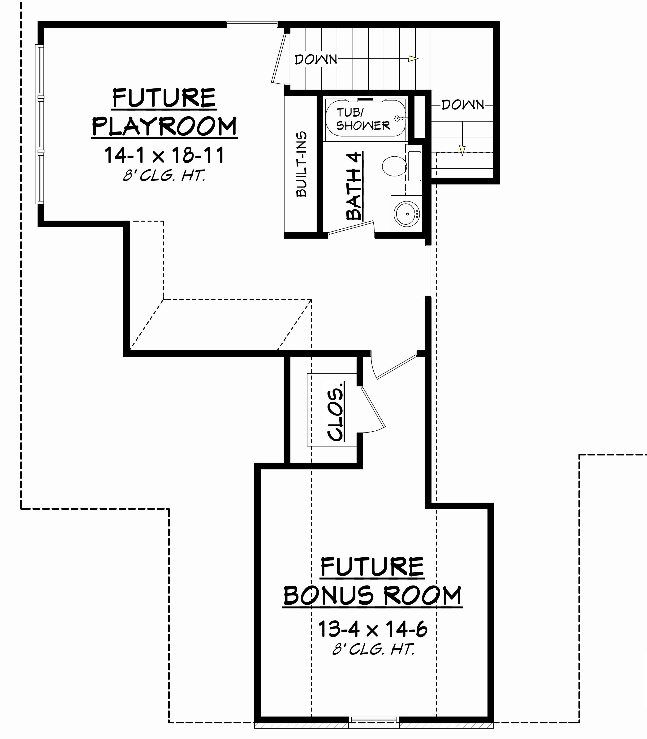 the fremont bonus room · french house plan 142 4 bedrm sq ft home