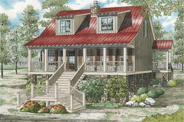 Bungalow Vacation Homes Country House Plans Home