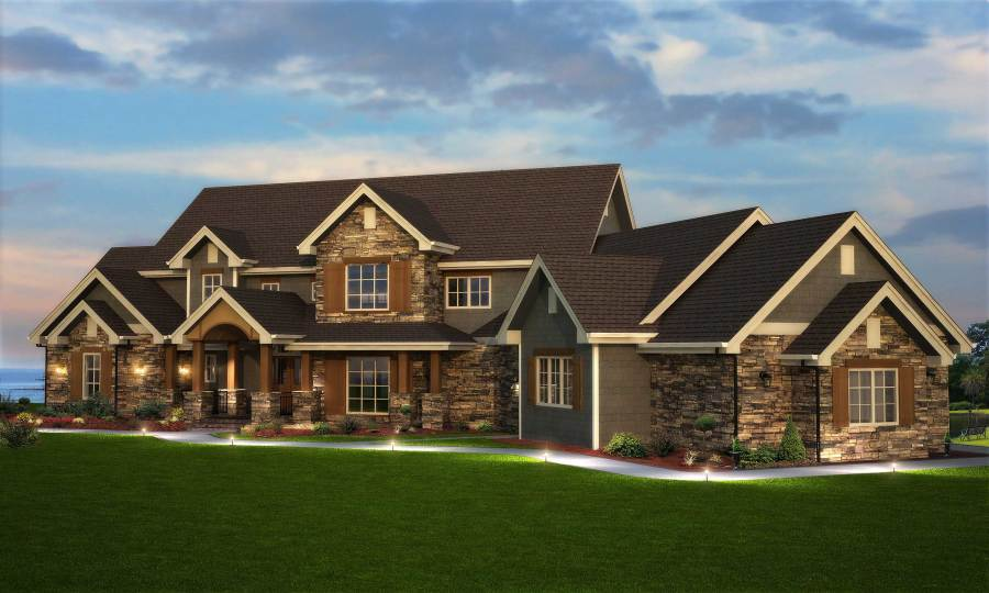 5 Bedroom House Plans   Big House Plans for Large Families 5 Bedrooms  or More  House Plans for Large Families