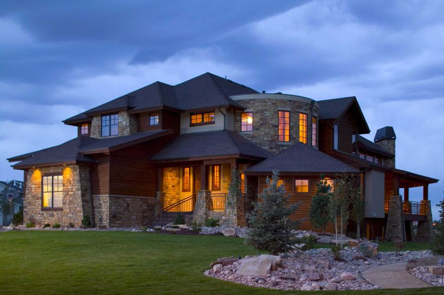 Tuscan Houseplans   Home Design Summit  161 1028      This is a colored photo of these great house plans