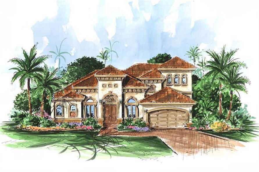 Image Result For Mediterranean House Plan