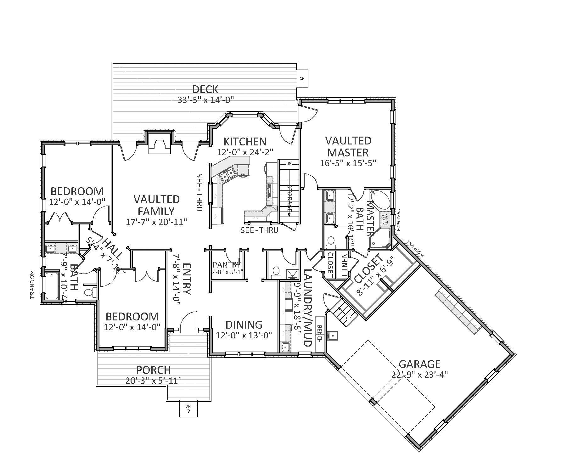 House Plan 189 3 Bdrm 2 549 Sq Ft Colonial Home
