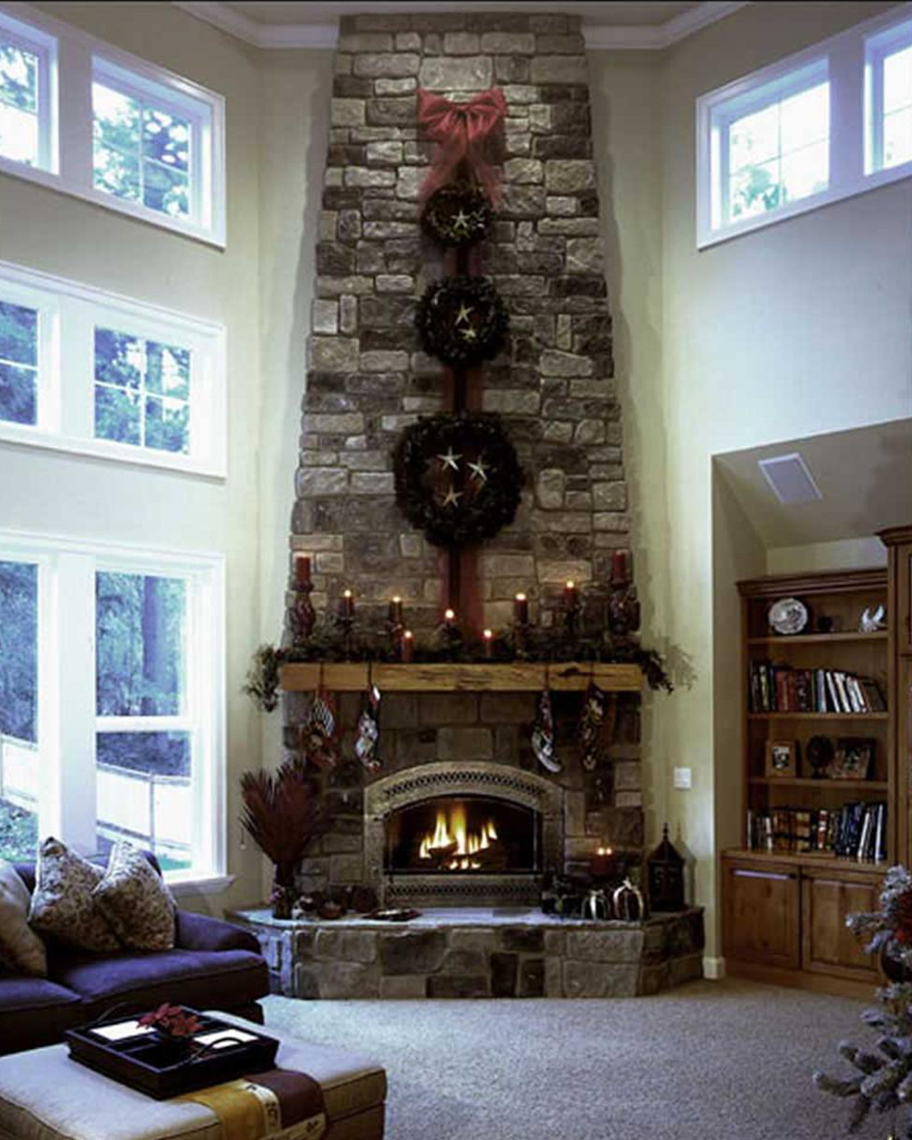 Family Room Mantel Decorating Ideas