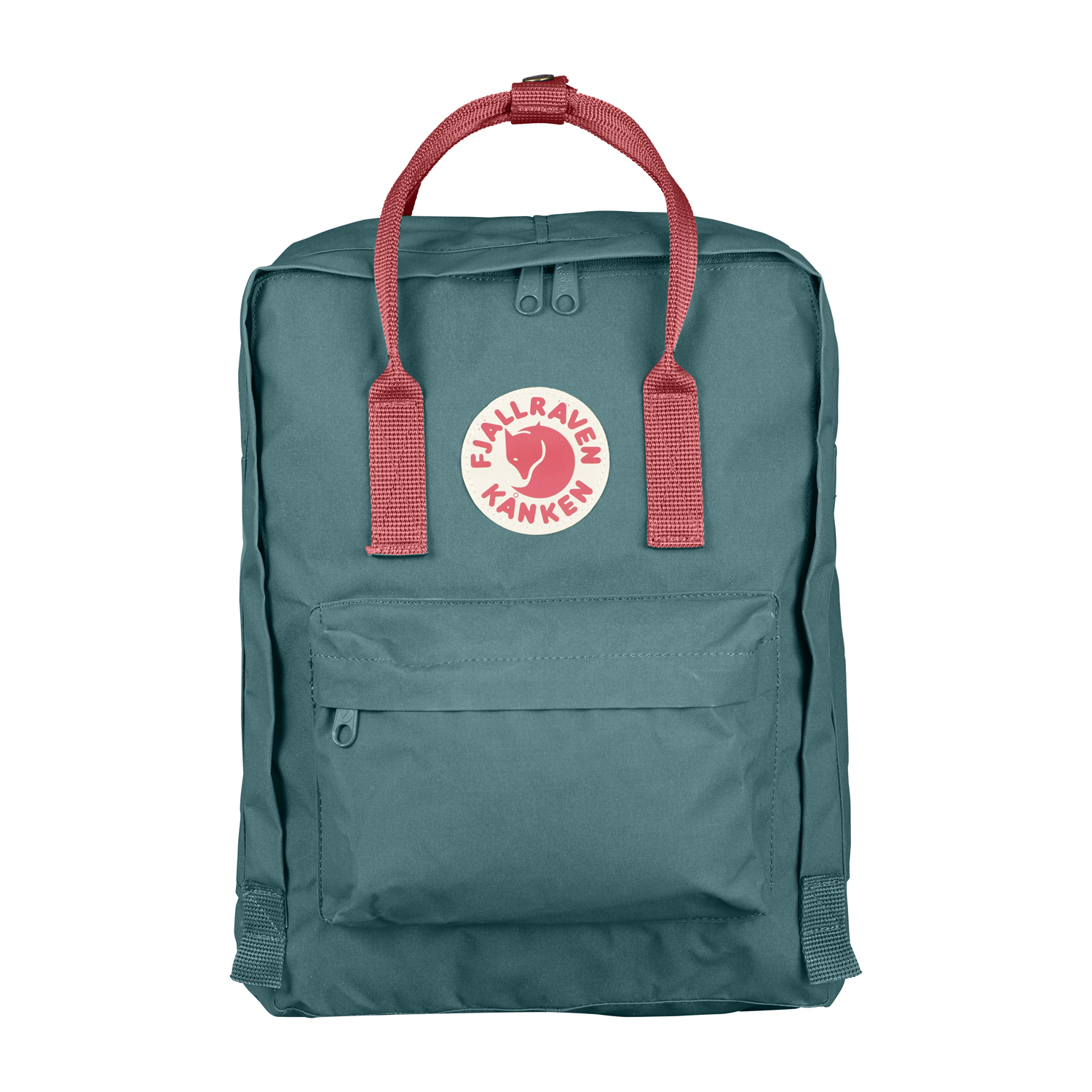 4d7d72789 Buy Fjallraven Kanken Backpack - Frost Green-Peach Pink in ...