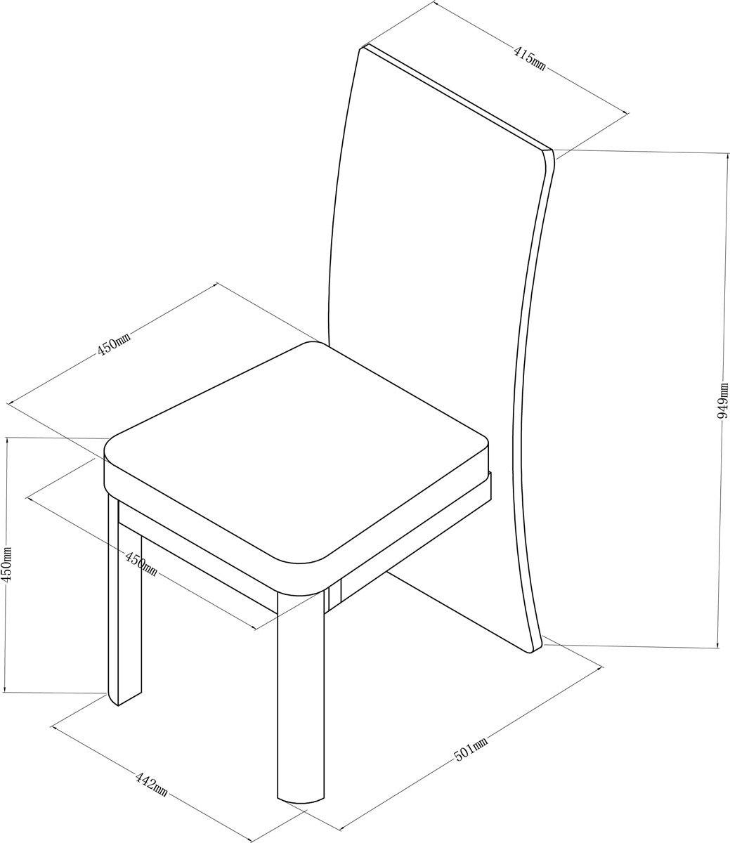 Jual Jf601 Oak Dining Chair