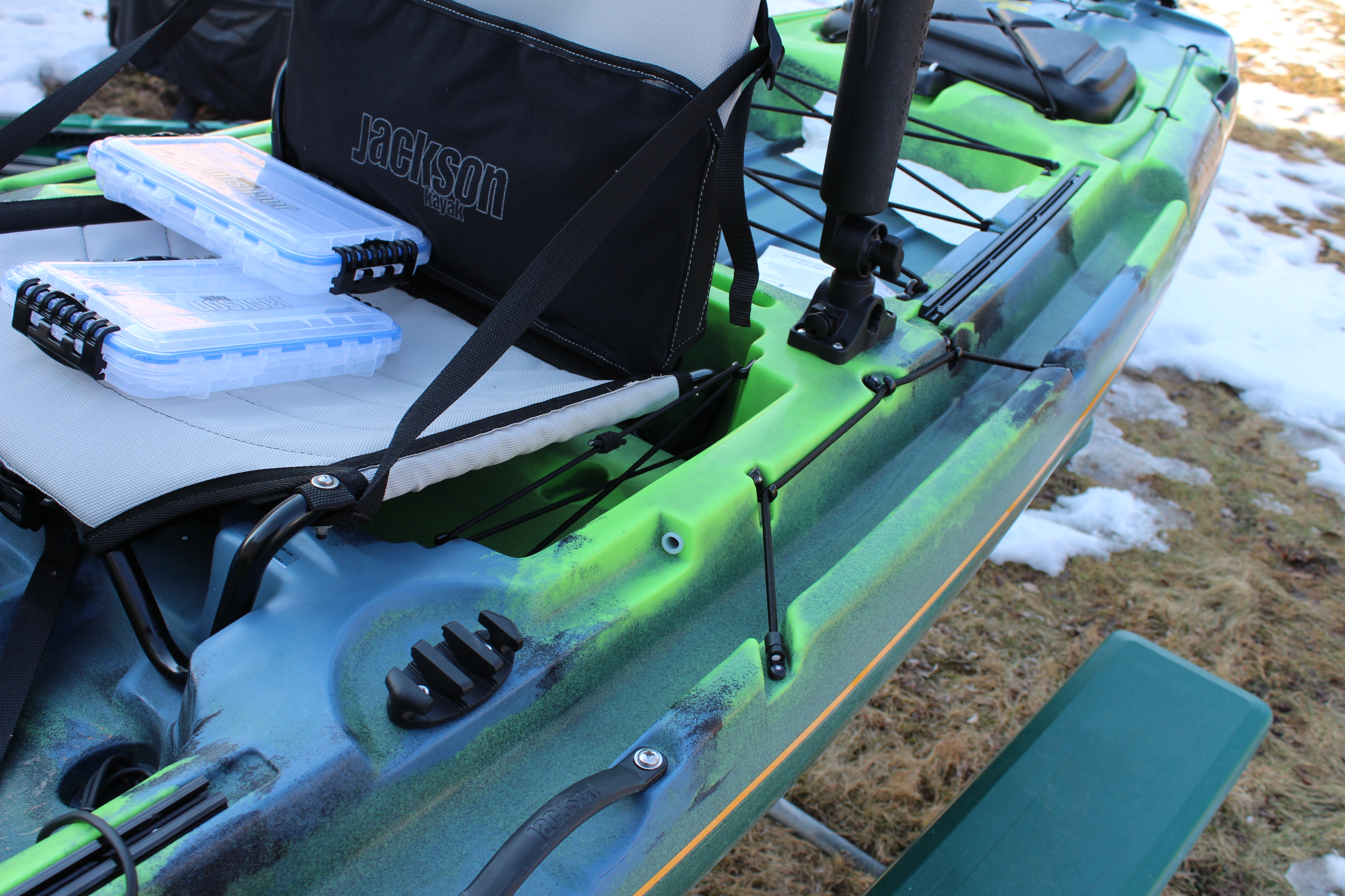 First look at the 2014 Jackson Kayak Big Rig - The Plastic Hull