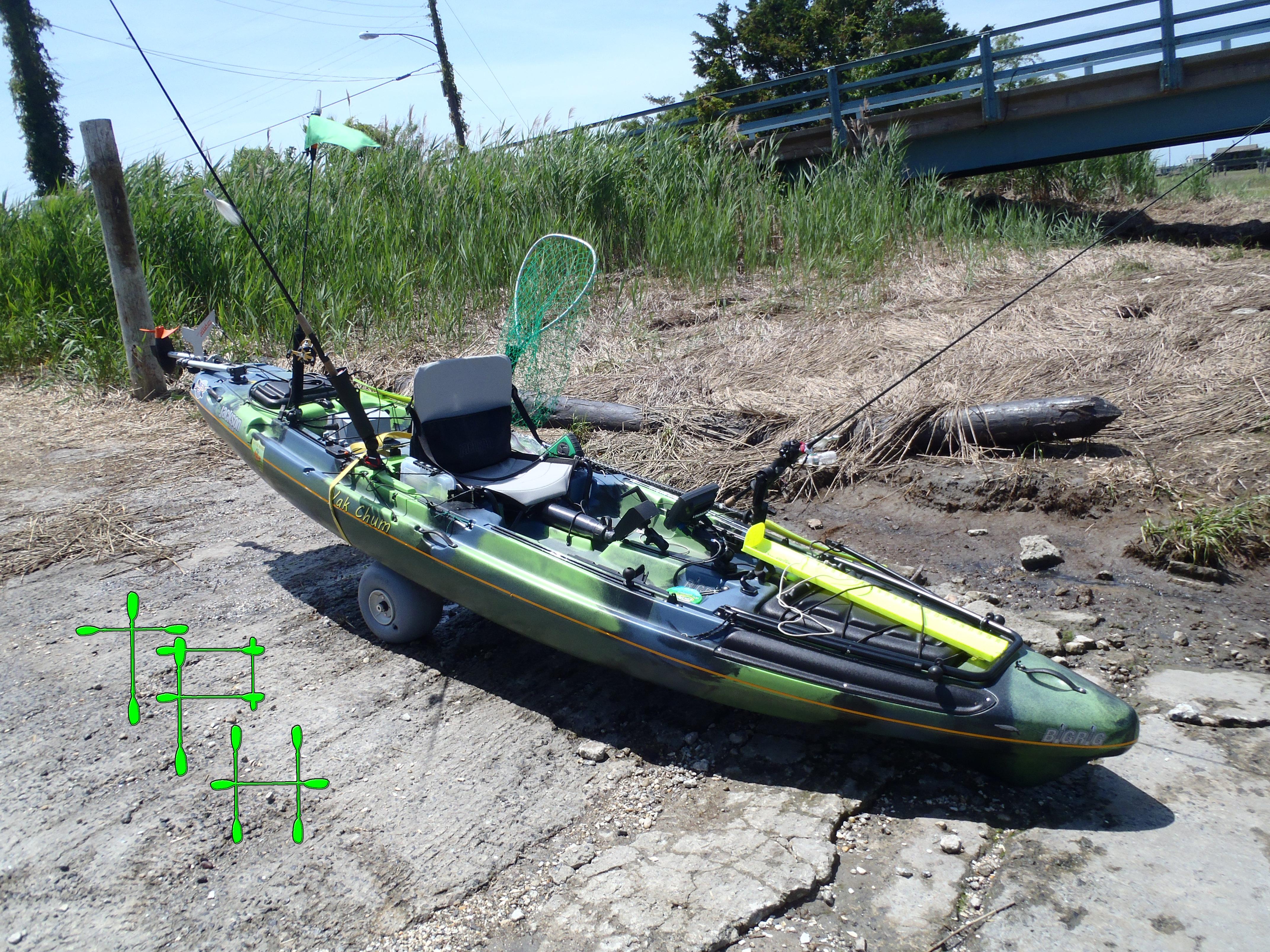Reviews mullet miller kayak cart the plastic hull for Best fishing canoe