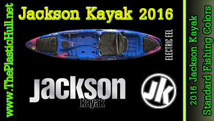 2016 Jackson Kayak Standard Fishing Colors