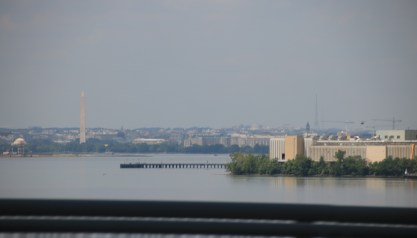 Washington DC from the outer beltway