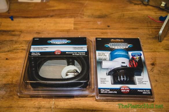 Pump & Hose w/ fitting kit