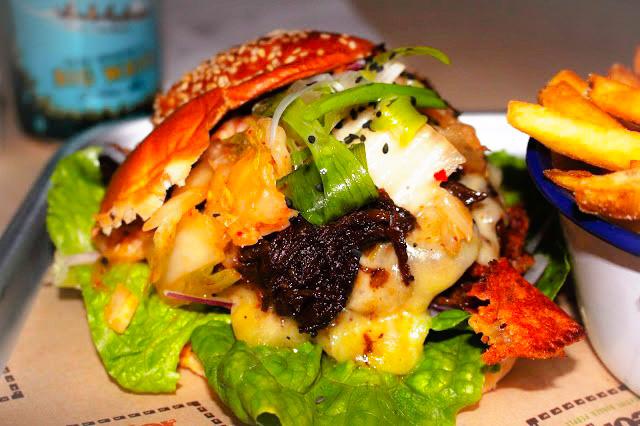 kimchi burger burger theory