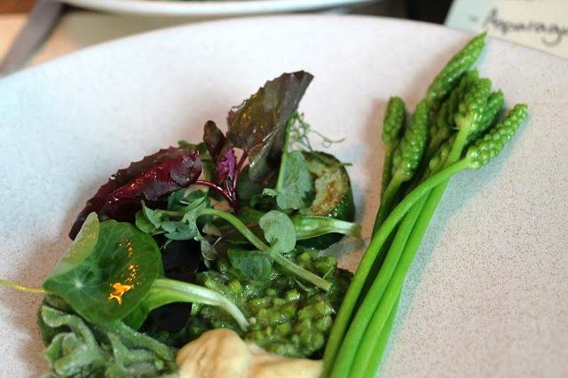 asparagus salad Anglo Farringdon