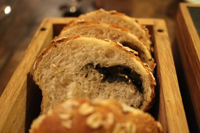 laver bread bread Beach House Oxwich