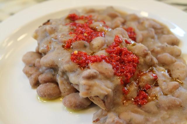 borlotti salsa rossa Padella London