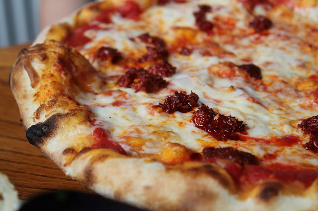 nduja pizza I Giardini City Road cardiff