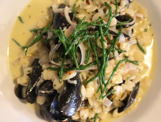 mussels orzo quadretti pasta loco cotham bristol