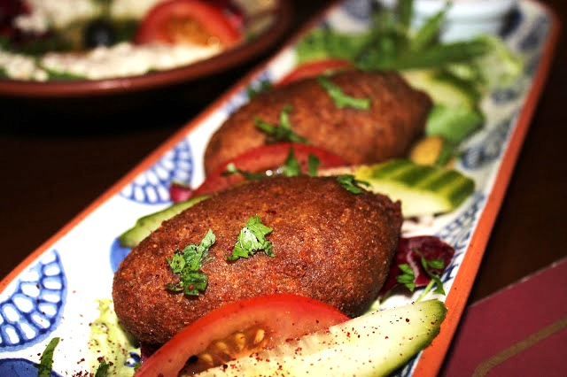 kibbeh minced lamb Mezza Luna City Road