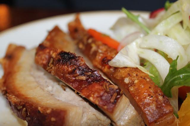 roast pork Porro Llandaff