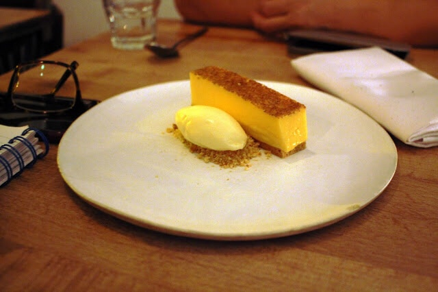 custard tart bay ice cream Wilsons Bristol