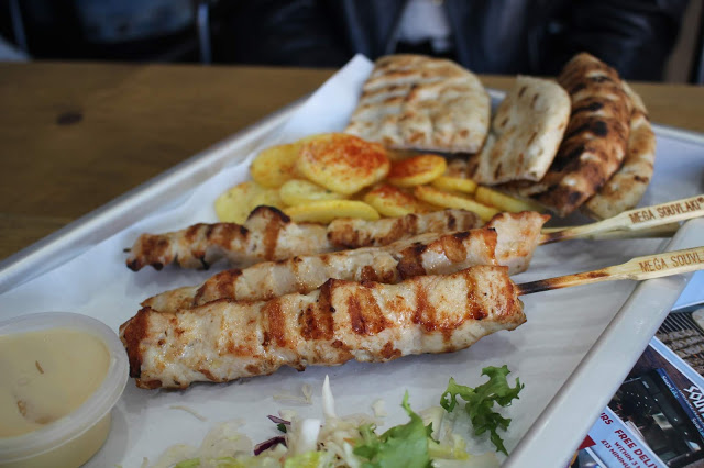 chicken skewers souvlike city road cardiff