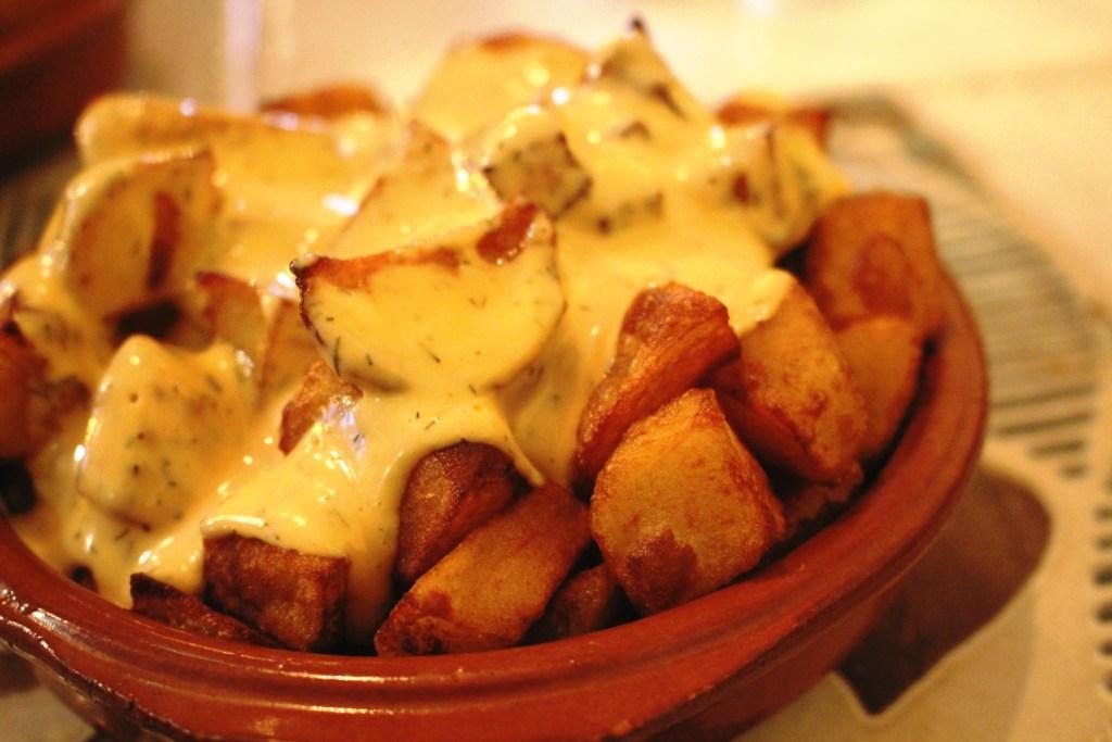 patatas bravas santiagos cardiff