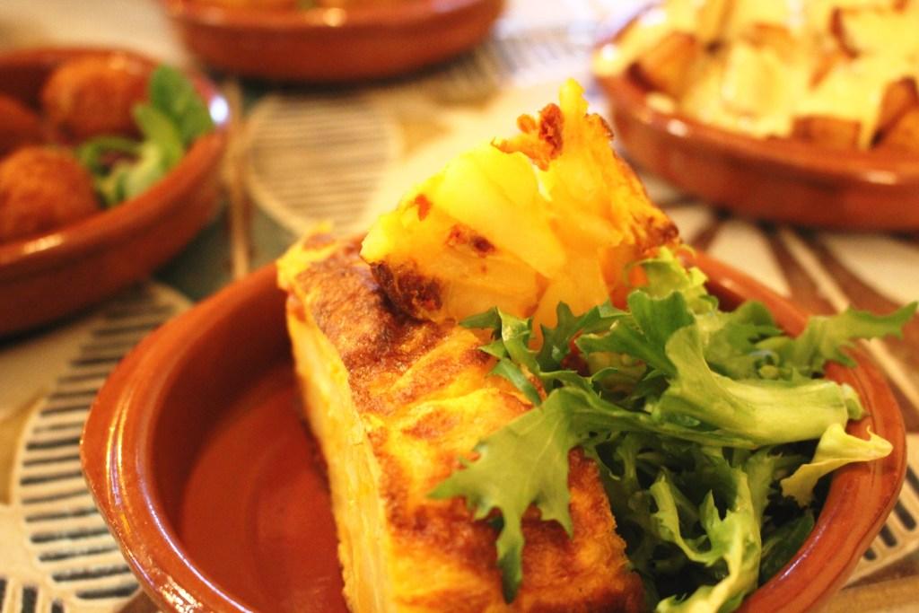 tortilla spanish santiagos cardiff