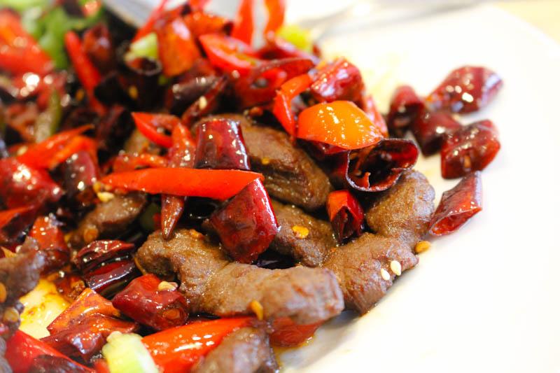 sichuan pepper stir fry beef canton