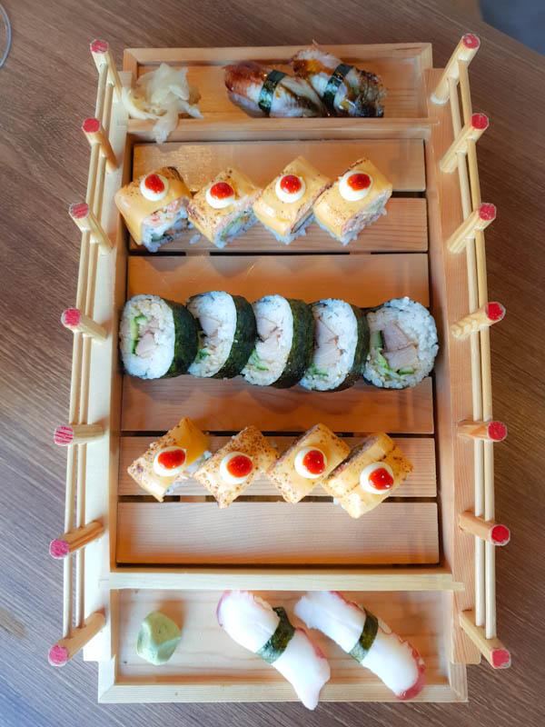 platter sushi life wellfield cardiff