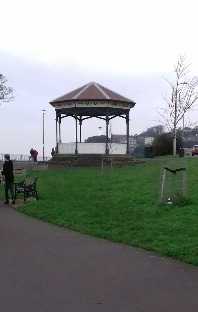 The Victorian bandstand #Clevedon