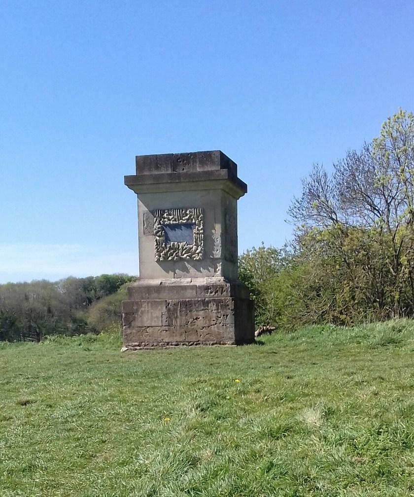 Monument to Elizabeth Berkley #Stoke Park Estate