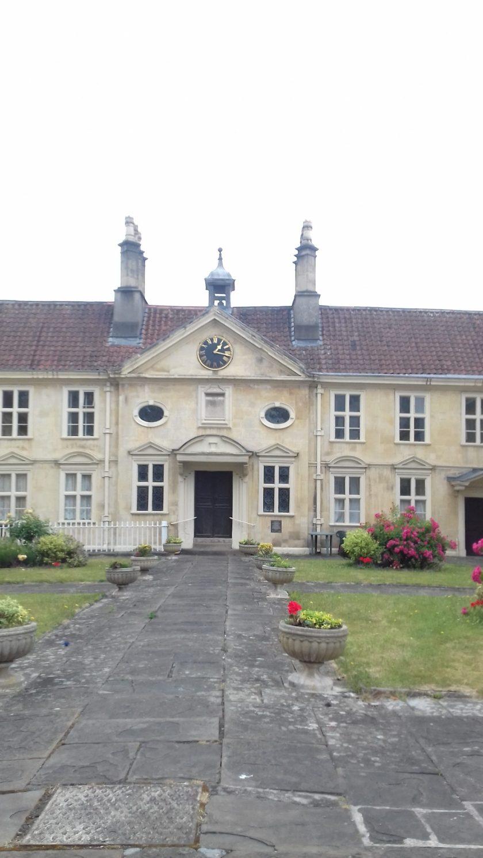 Almshouses built by Edward Colston