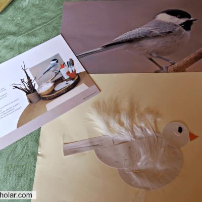 Making a Shape Bird – Invitation to Create