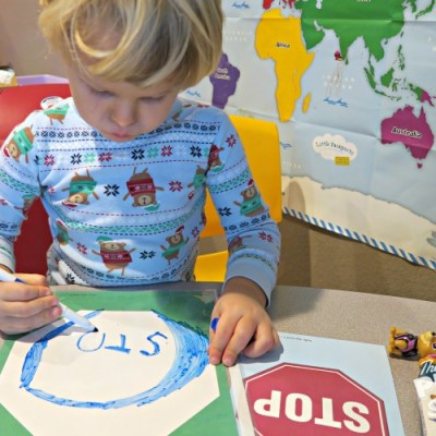 Two Traffic Sign Inspired Learning Activities with Mother Goose Time
