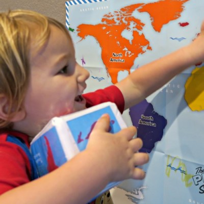 Geography Game For Early Learners