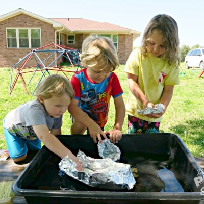 3 Water Play Games for Early Learners