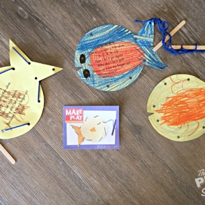 Fish On a Line with Mother Goose Time's Creative Corner